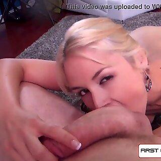 Milf Sarah Vandella suck &amp_ fuck a monster cock, big booty &amp_ big boobs - FirstClassPOV