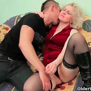 Skip the romance mom just wants cock