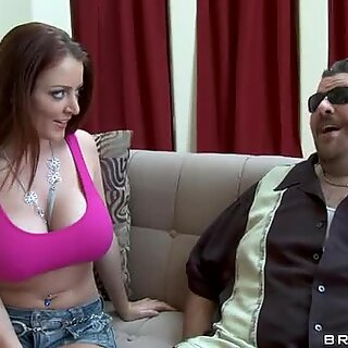 Over sized booty of Sophie Dee giving boners to everybody