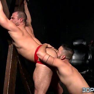 Studs butt rammed raw
