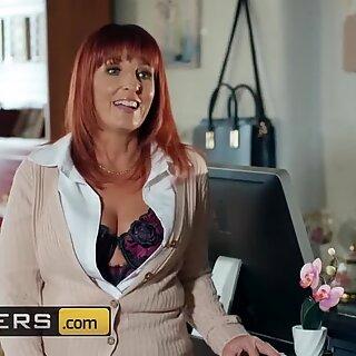 Brazzers - British Gilf Beau Diamond craves big cock