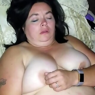 Sexy BBW Plays with Her Favorite Toy