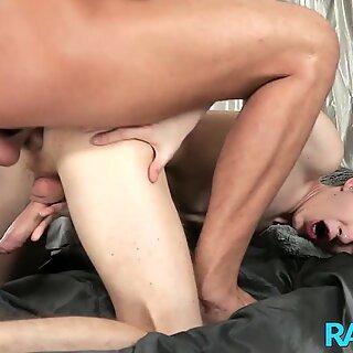 RAWEURO Gay Stud Martin Polnak Fucks Twink Into Cumming