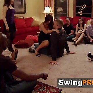 Swinger bonding reunion with steamy oral sex and partner swap!