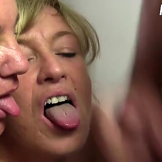 AmateurEuro - Annette Liselotte Shares Cock In Hardcore FFM