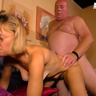 AmateurEuro - Horny Granny Got Pussy Licked & Fucked On Cam