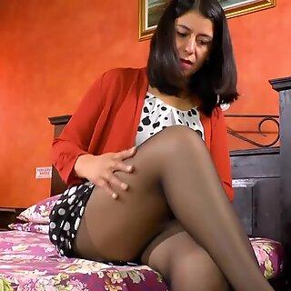 LatinChili Mature Anabella crazy showoff footage