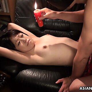Sweet Momo Sakata is moaning while getting fingerfucked