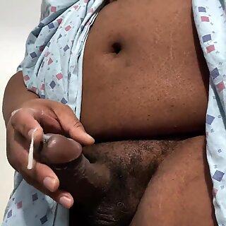 Horny Coronavirus COVID19 Patient masturbating