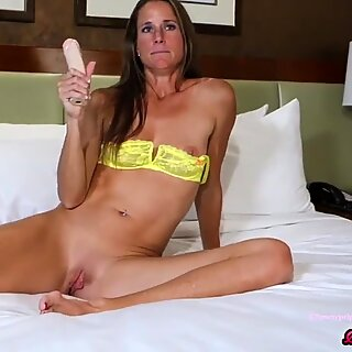 SofieMarieXXX - MILF Teases Before Riding Big Cock In Hotel