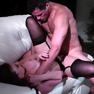 Busty milf screwed by her stepsons cock