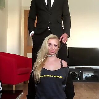 PASCALSSUBSLUTS - Busty Misha Mayfair And Rough Anal
