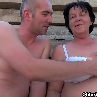 BBW granny still loves grandpa's little dick